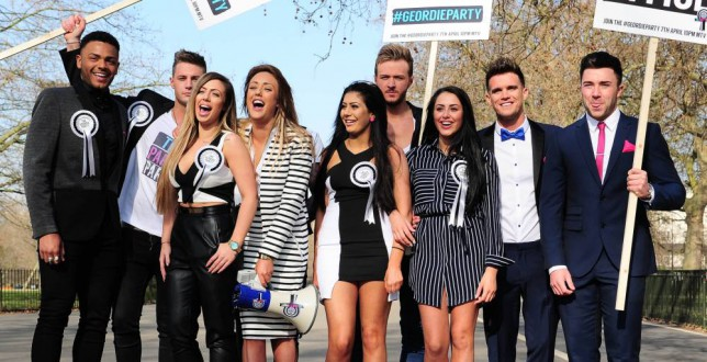 Geordie Shore cast (Picture: Xposurephotos.com)