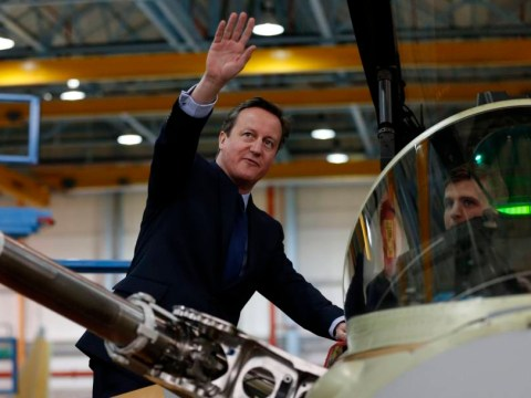 David Cameron might want to work on his wave before the election