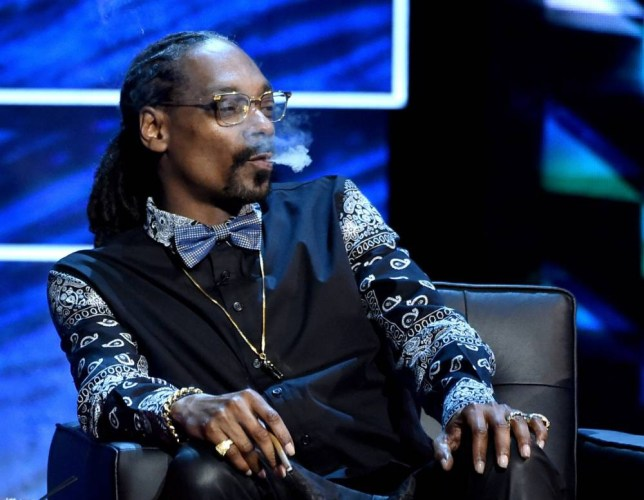 CULVER CITY, CA - MARCH 14: Rapper Snoop Dogg appears onstage at the Comedy Central Roast of Justin Bieber at Sony Studios on March 14, 2015 in Culver City, California. (Photo by Kevin Winter/Getty Images)
