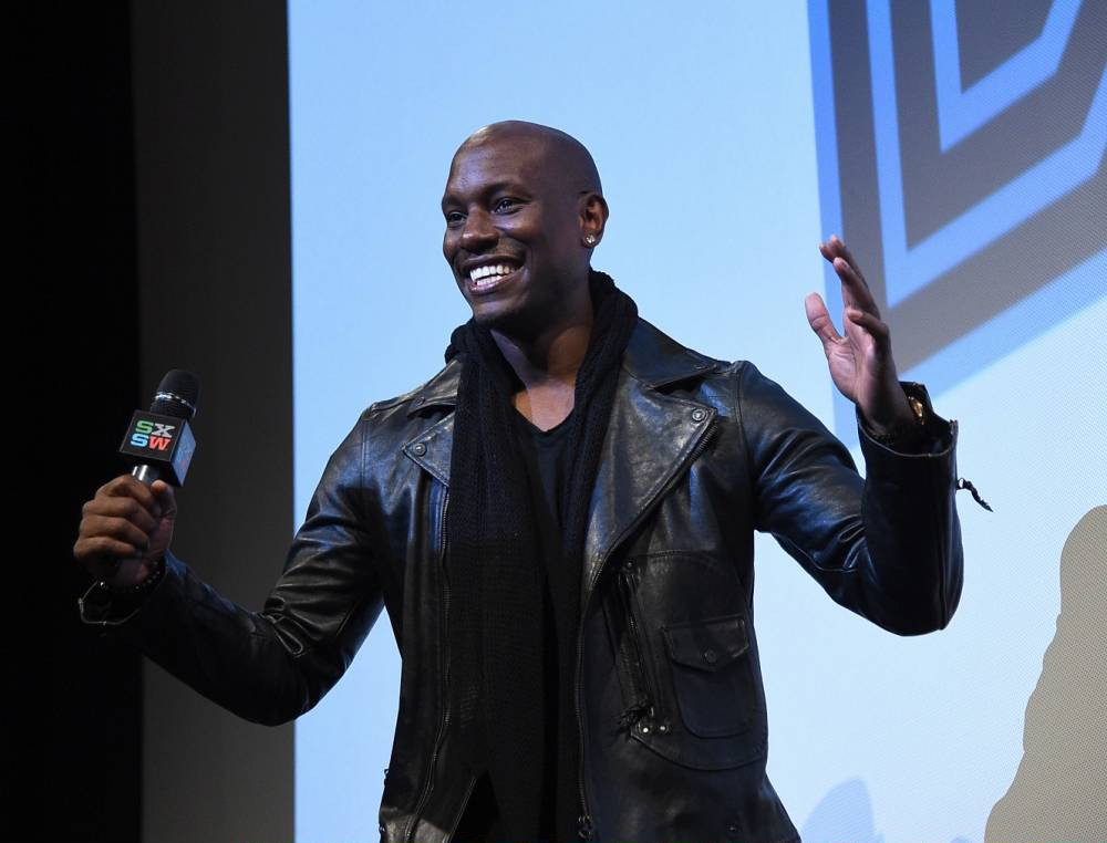 """AUSTIN, TX - MARCH 15: Actor Tyrese Gibson attends the screening of """"Furious 7"""" during the SXSW Music, Film + Interactive Festival at the Paramount on March 15, 2015 in Austin, Texas. (Photo by Michael Buckner/Getty Images for SXSW)"""