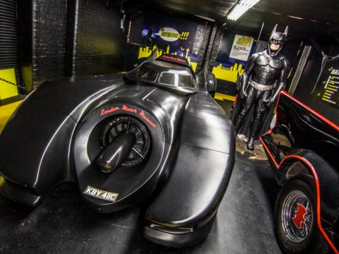 Fancy getting driven around in a Batmobile dressed as the Dark Knight?