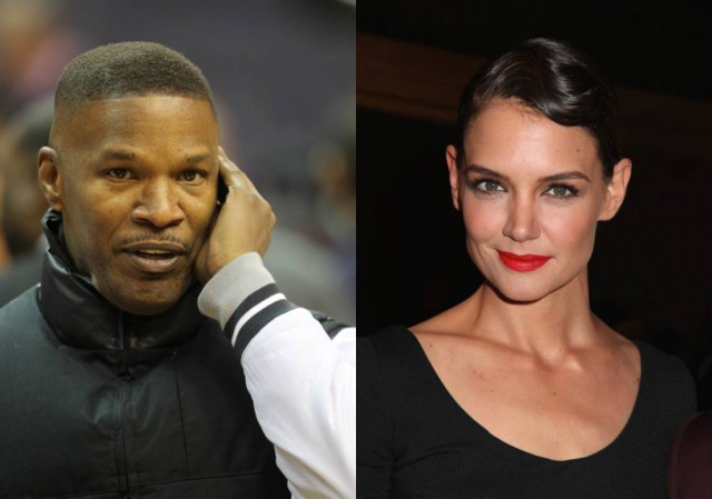 Katie Holmes getting close to Jamie Foxx?