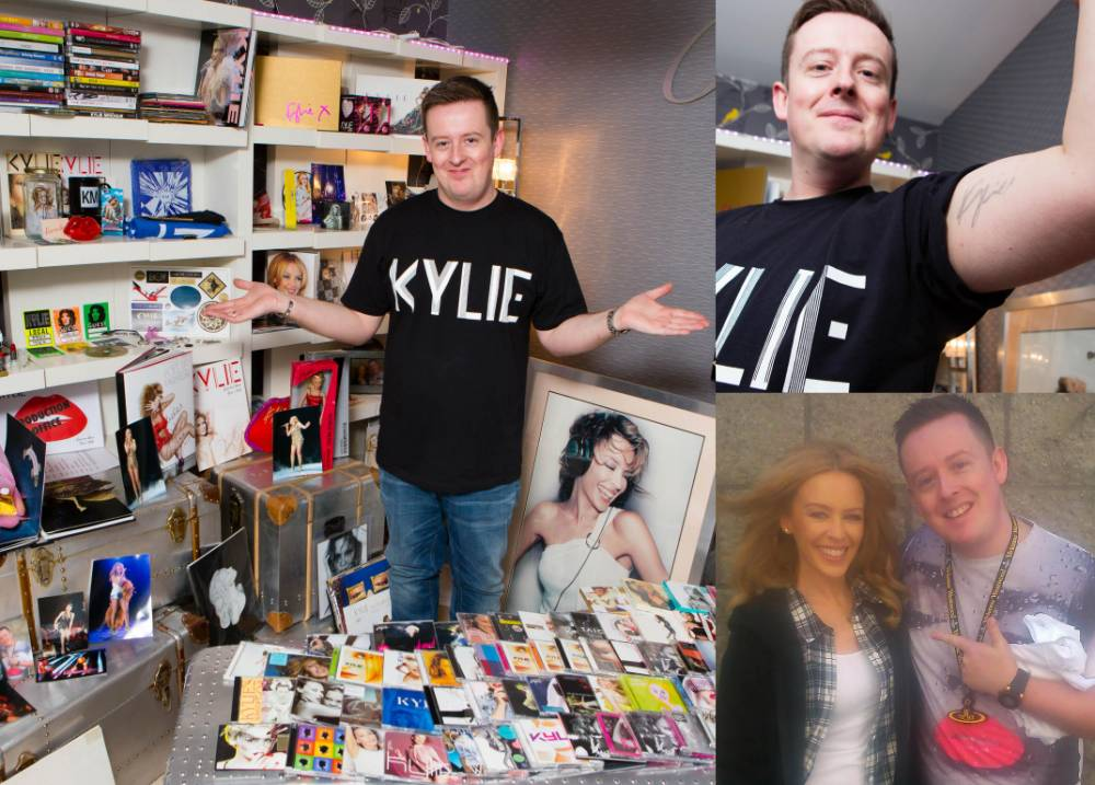 He can't get her out of his head: A man has spent £30,000 on Kylie Minogue memorablia