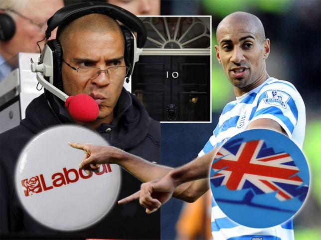 Stan Collymore and QPR's Karl Henry get into serious Twitter beef over political debate