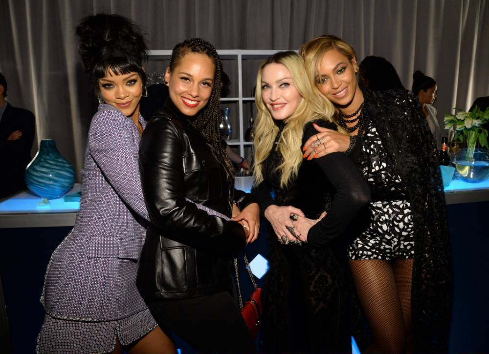 Rihanna, Madonna and Beyonce want more of your money: Music heavyweights unite to launch streaming service Tidal