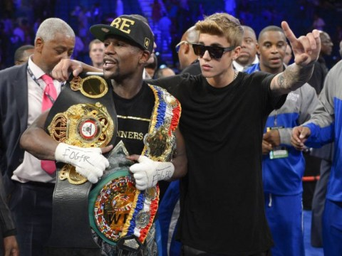 Justin Bieber to accompany friend Floyd Mayweather to ring for Las Vegas fight with Manny Pacquiao