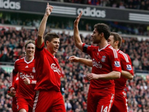 Xabi Alonso glad to be on Steven Gerrard's team for charity game as Jamie Carragher will make 'terrible manager'