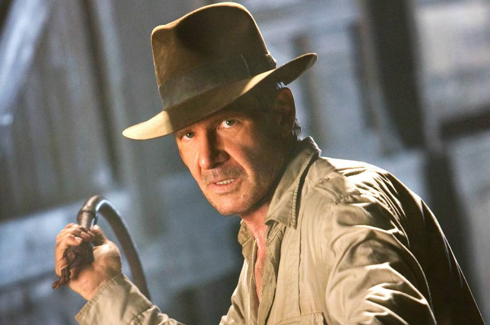 FILM: Indiana Jones And The Kingdom Of The Crystal Skull (2008). GregoryBack in action: Harrison Ford stars in Indiana Jones And The Kingdom Of The Crystal Skull Harrison Ford