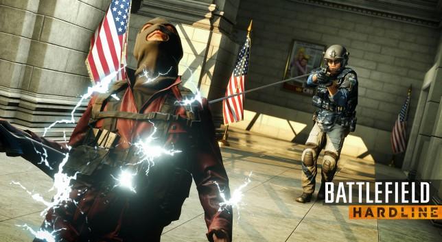 Battlefield Hardline - only temporarily incapacited
