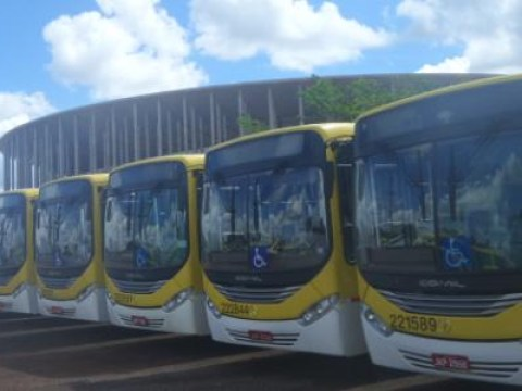 A £350million World Cup stadium is now being used as a bus depot