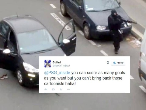 Chelsea fan's sick tweet mocks Charlie Hebdo massacre