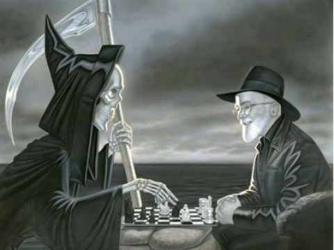 Fans are petitioning Death to bring back Terry Pratchett