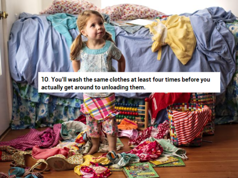 14 things you'll only understand about housework when you have babies
