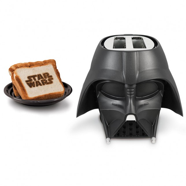 May the toast be with you: Darth Vader now comes in the form of a toaster