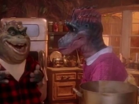 Earl Sinclair from 90s TV series Dinosaur rapping to Notorious B.I.G is the internet's new favourite thing