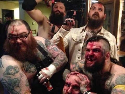 Death metal band who attack each other with barbed wire banned from Glasgow gig
