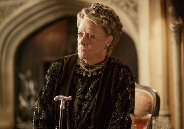 Dame Maggie Smith, Downton Abbey