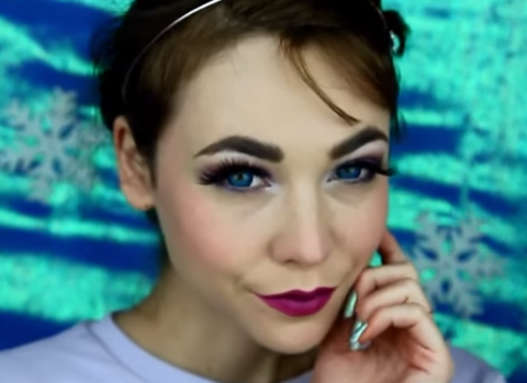 The kids will love this: Here's how to get the perfect Elsa from Frozen make up
