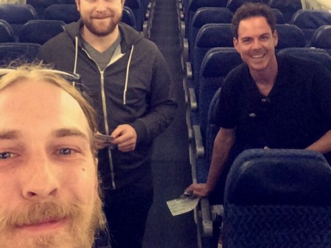 6 things to do if you find yourself on an empty plane like these guys