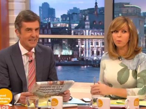 Susanna Reid gives John Stapleton an eyeful after Good Morning Britain wardrobe malfunction