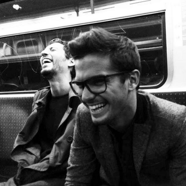 Ooh la la: Hot men on the Paris Metro is our favourite Instagram account du jour