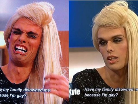 Transvestite on The Jeremy Kyle Show has world's most glamorous cry face