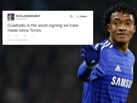 'He's w**k!' Chelsea fans are already fed up with £26m new signing Juan Cuadrado