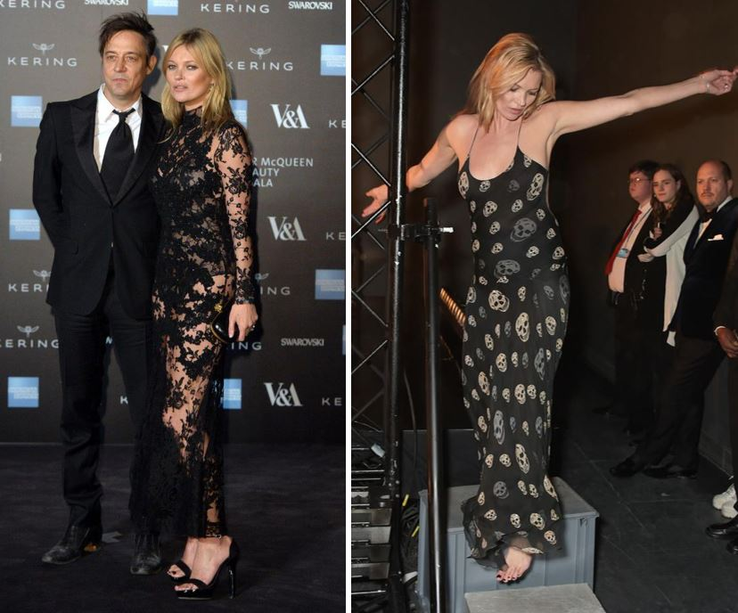 Kate Moss looks absolutely blooming amazing at launch of Alexander McQueen's Savage Beauty retrospective