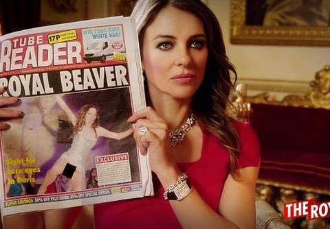 'Terrible but fab': Liz Hurley's new series The Royals gets the viewers' seal of approval