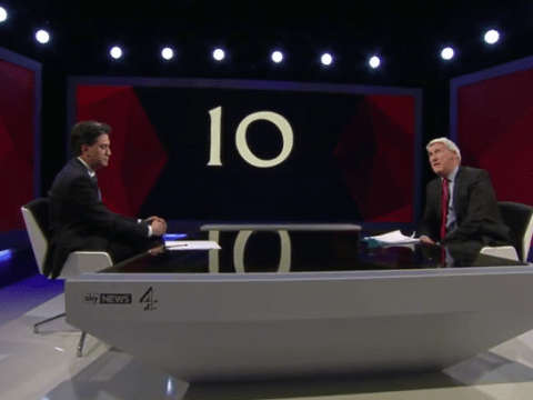 Paxman to Miliband: 'People see you as a north London geek'