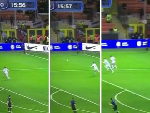 Arsenal loanee Lukas Podolski takes most pathetic corner ever for Inter Milan