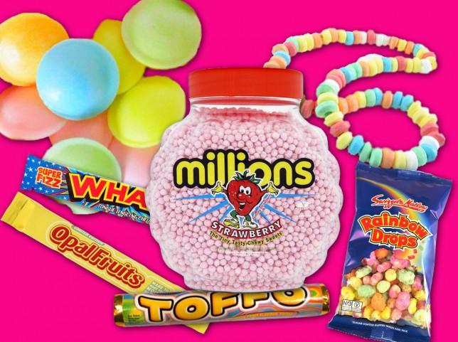 90s retro sweets