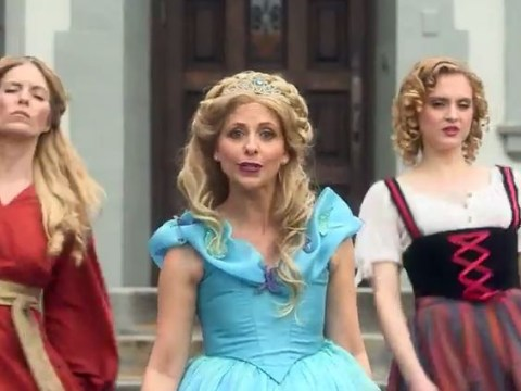 Cinderella vs Belle: Disney princess rap battle stars Buffy's Sarah Michelle Gellar and it's all kinds of awesome
