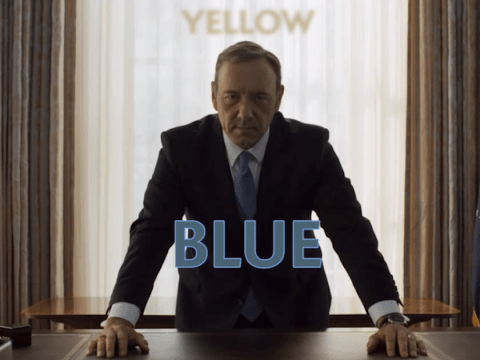 This is the evidence that every scene in House Of Cards looks exactly the same…