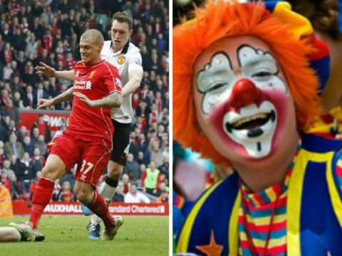 Liverpool's Martin Skrtel posts picture of clowns on Instagram after receiving FA ban