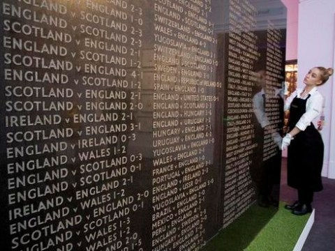 Artwork detailing England's footballing failures since 1874 sells for £425,000