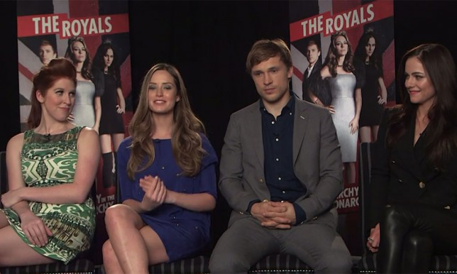 The Royals cast admit: Maybe William and Kate will tune in to our show and have a quiet watch