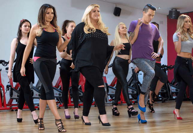 Jessica Wright, Gemma Collins, Bobby Norris, Lauren Pope and Billie Faiers learn Stiletto dancing TOWIE learn Stiletto dancing, Brentwood, Essex, Britain - 02 Mar 2015 The TOWIE ladies have got their dancing shoes on! Gemma Collins is hosting a Women Independence party in honour of International Women?s Day on the 8th March, and invited some of her friends for a stiletto work out in preparation for the party. What better way could there be to get into the spirit of being independent women?!?