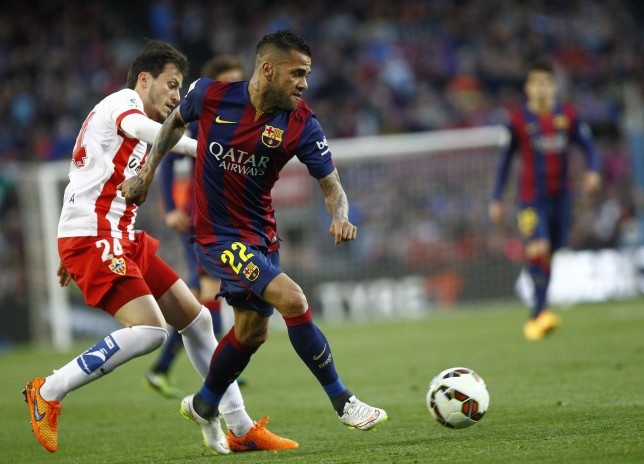 Barcelona must end the transfer Dani Alves circus amid Manchester United and Arsenal interest
