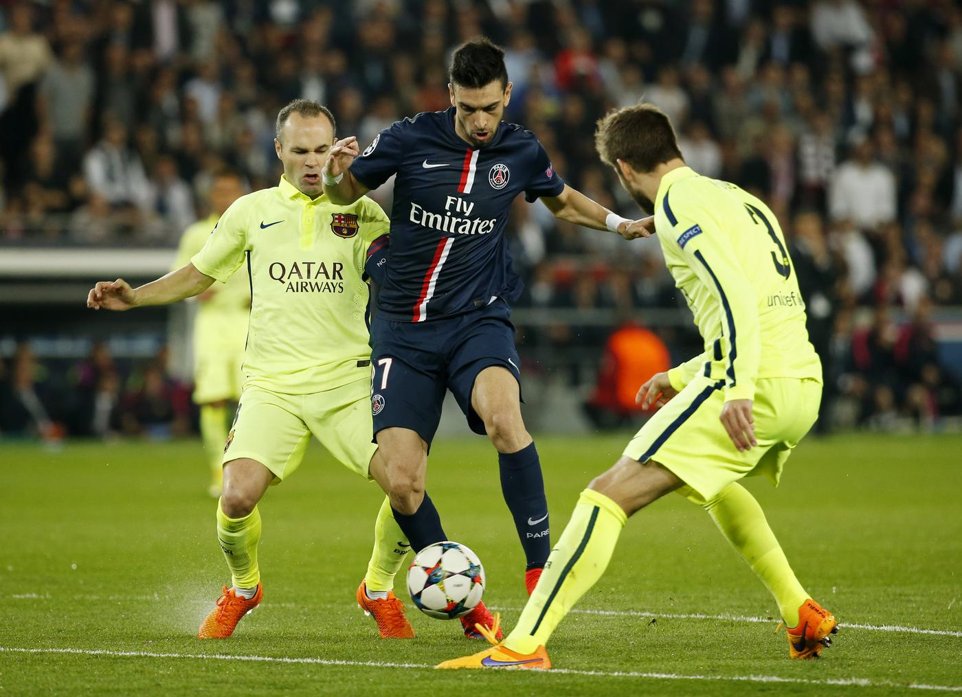 Chelsea boss Jose Mourinho eyeing Javier Pastore transfer from Parsi Saint-Germain- report