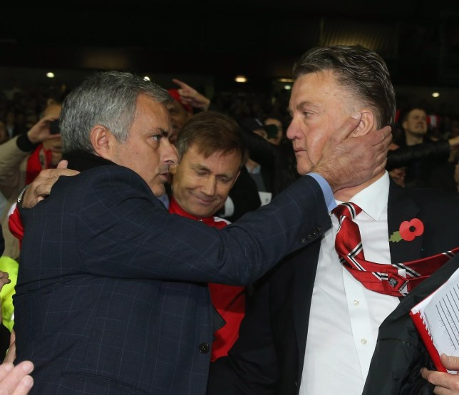 Louis van Gaal and Jose Mourinho both believe Manchester United can win the Premier League this season