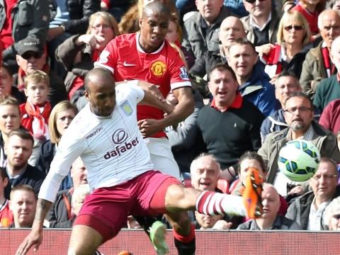 Aston Villa midfielder Fabian Delph 'has emerged as a transfer target for Manchester United'