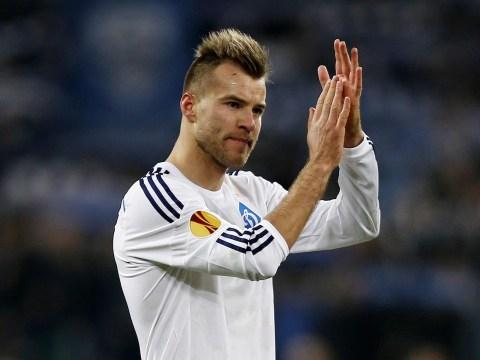 Arsenal lead Liverpool, Barcelona, Everton and Tottenham in race to sign Dynamo Kiev winger Andriy Yarmolenko – report
