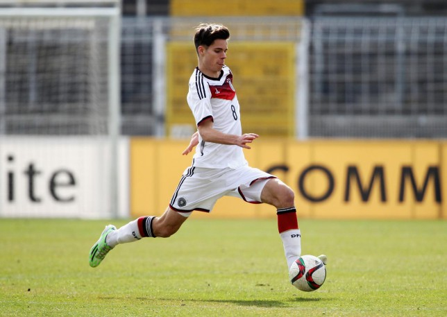 Tottenham Hotspur 'lining up £2.3million transfer of German wonderkid Julian Weigl'