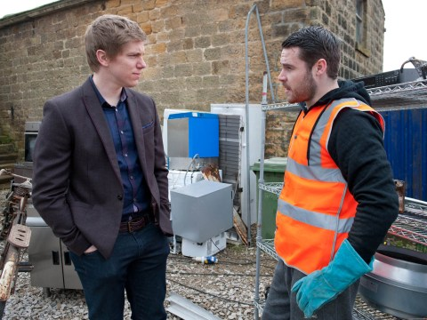 Emmerdale spoilers: Robert Sugden's secret to be discovered by wife Chrissie