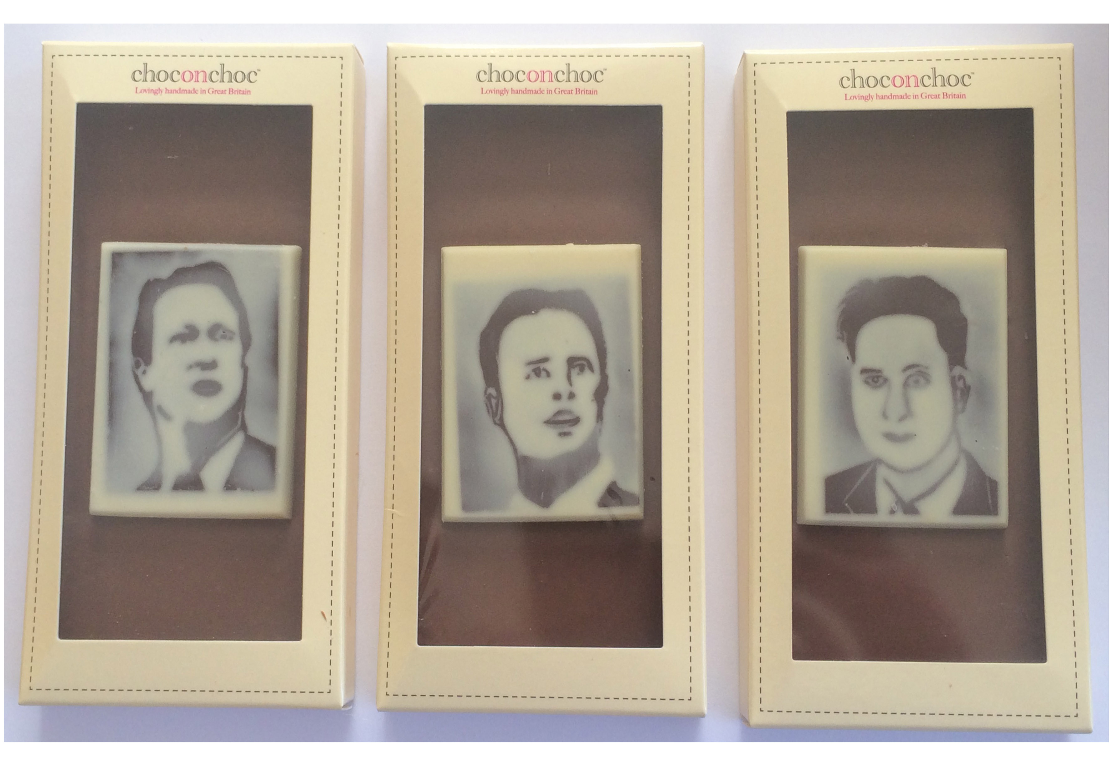 Ed Miliband, David Cameron and Nick Clegg have never looked tastier