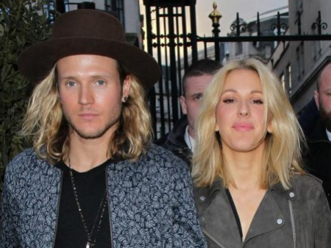 Ellie Goulding and Dougie Poynter engaged? She is wearing a ring on that finger again…
