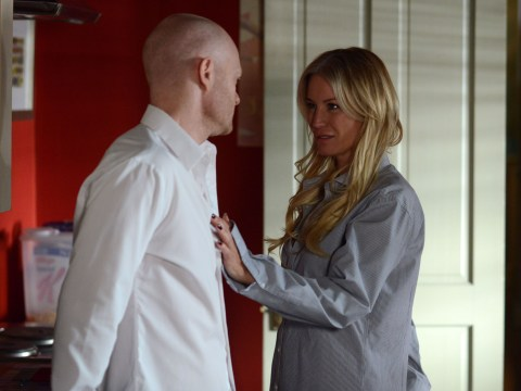EastEnders spoilers: First pictures of Denise Van Outen as Karin Smart – and she's already bedded Max Branning
