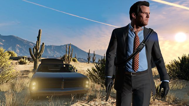 Grand Theft Auto V - now available at 4K resolution