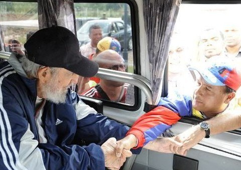 Fidel Castro is seen in public for the first time in 14 months